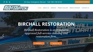 Birchall Restoration, Unique Concepts Web Design